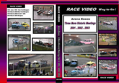 Race Video  3 More Historic Banger warfare meetings from 2001 2002 & 2003  Vol 2