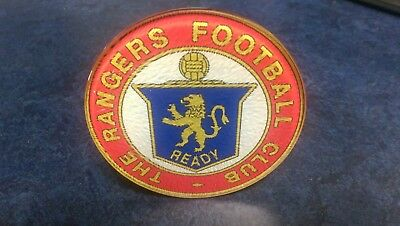 Rangers Glass coaster