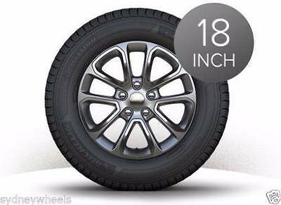 """4X New Genuine 18"""" Grand Jeep Cherokee Laredo 2016 Wheels & Cooper At At3 Tyres"""