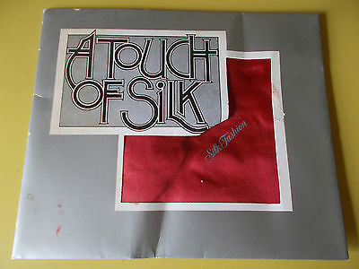 1980-90s VINTAGE HELENA RUBINSTEIN RED A TOUCH of SILK FASHION PROMO SCARF - NEW