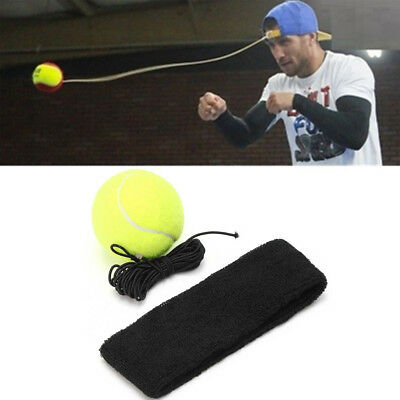 1Pc Sport Tennis Magic Boxing Training Speed Ball Rubberband Training Practice