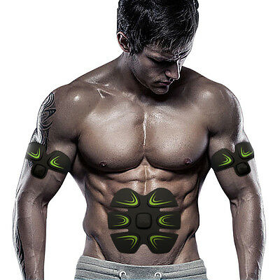 EMS Body Muscle Simulator Training Gear ABS Trainer  Home Workout Exercise