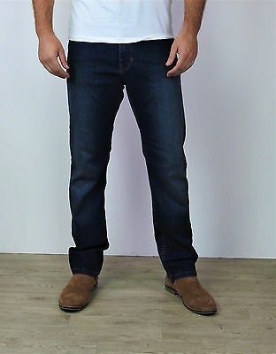 Men's Ex M&S Straight Fit Jeans Casual Regular Water Resistant  W28-W50