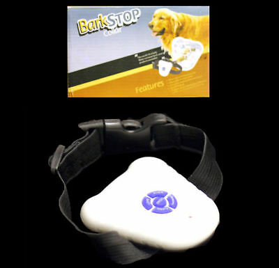 Dog Stop Barking Mini Training Collar Pet Anti Bark  Ultrasonic Sound Aid Contro
