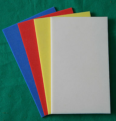 Fly Box S/A Lining/Relining Foam in White, Red, Yellow or Blue 300 x 200