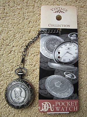 New Vintage Collection Robert E. Lee 1807-1870 Pocket Watch