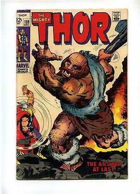Thor #159 - Marvel 1968 - VG- - Orign of Dr Blake Conclusion
