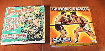 Vintage Castle Films 8mm films~Simba, Famous Fights