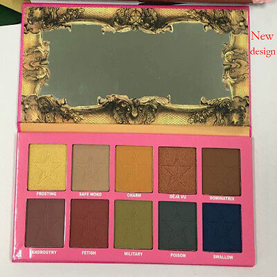 NUOVO SET Beauty KILLER ❤ Jeffree Star Eyeshadow Palette 10 COLORI PARALLELO