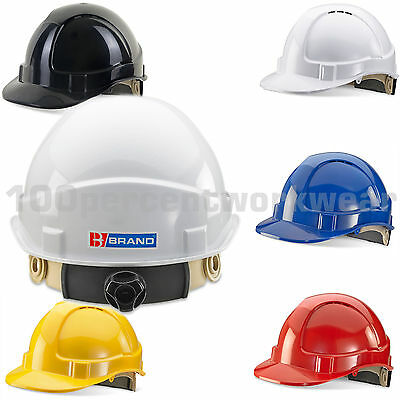 BBrand Wheel Ratchet Vented Work Safety Helmet Hard Hat Construction Builders