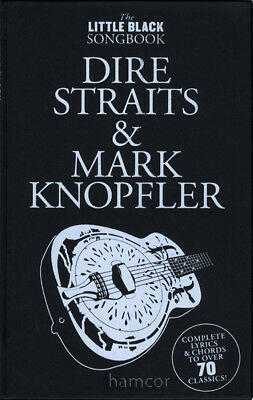 Dire Straits & Mark Knopfler The Little Black Songbook Guitar Chord Music Book