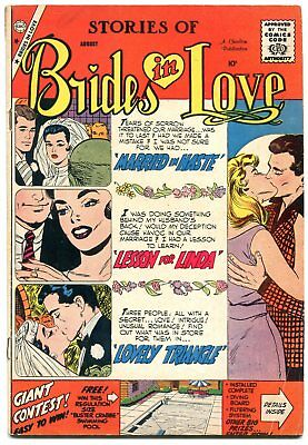 Brides in Love #14 1959-- Charlton Romance Comics VG