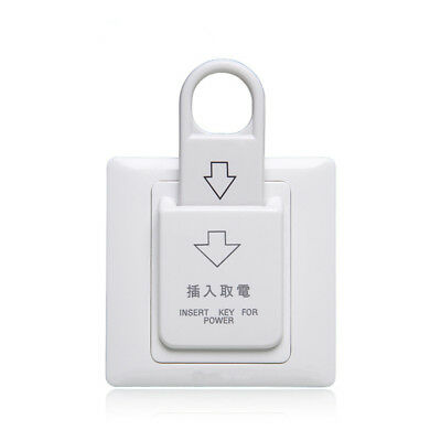 High Grade Hotel Magnetic Card Switch Energy Saving Switch Insert Key for Power