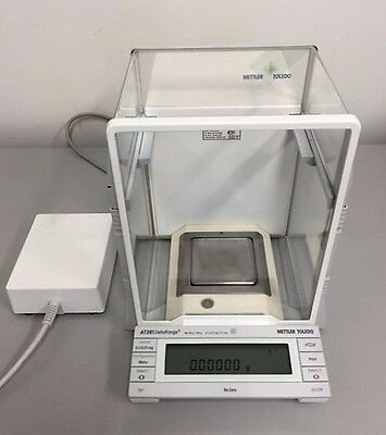 Mettler AT261 DeltaRange Analytical Balance, Excellent Condition,90 Day Warranty