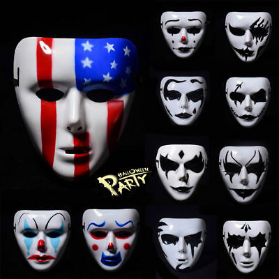 2017 Full Face Mask Cosplay Masquerade Horror Scary For Halloween Costume Party