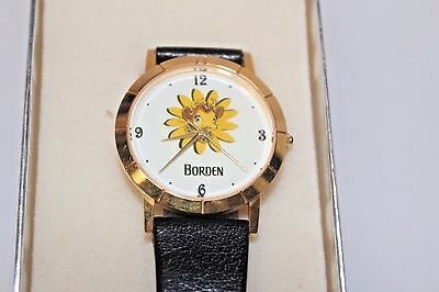 ELSIE Borden Watch 1950s Vintage / Works Perfectly!