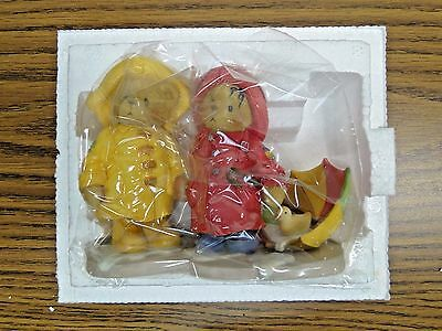 """Cherished Teddies 'Joey & Lindsey' """"We Can Weather Any Storm"""" #726621 1999"""