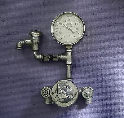 LEEDAL Darkroom Chemical Lab Photograph Thermometer Dial w/ Thermostatic Control