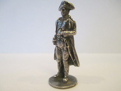 Figurine-miniature: Napoleon. Solid silver. Exclusive offer.