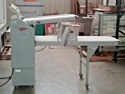 Moline 330-D donut sheeter production table w/ 2 3/4 donut cutter- Reduced Price