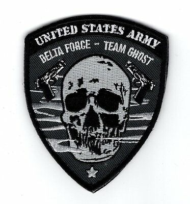 Usa Army Delta Force Team Ghost Morale HOOK Patch