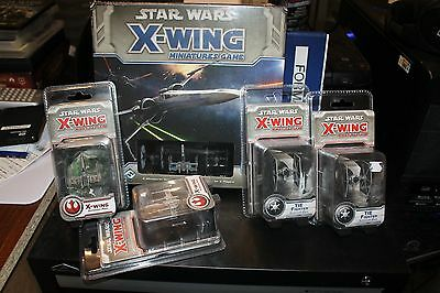 Star wars, x wing, Bulk Lot, Free Post, Board Game, Mint condition, sealed