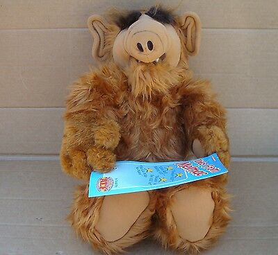 "1987 Talking Alf ""tales From Melmac"" With Original Tag **works Great**"