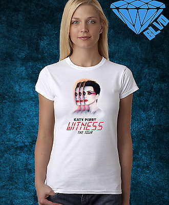 Katy Perry 2018 witness Tour T-shirt with optional Personalised gift card