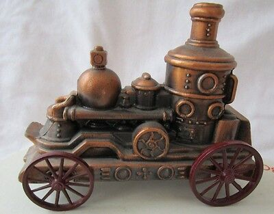 Vintage Die Cast Fire Pumper Bank  by York Haven Bank