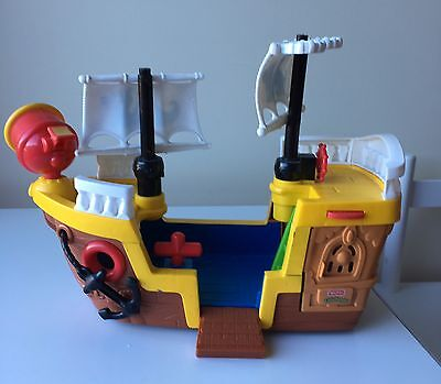 Fisher Price Little People Pirate Ship 40 X 27 Cms