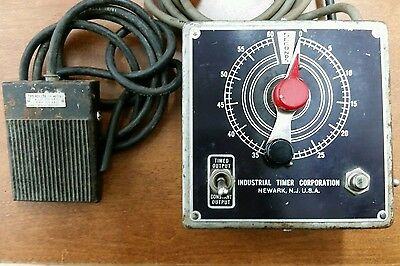 Industrial Timer Corp 60 Second Darkroom Timer M-1M Series M - Works
