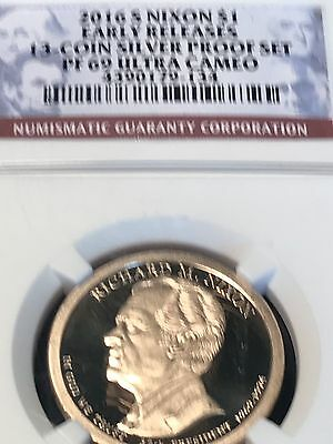 2016-S President Richard Nixon $1 Proof Early Releases Ngc Pf69 Ultra Cameo