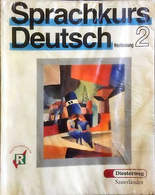 German Language Exercise Book With Tapes