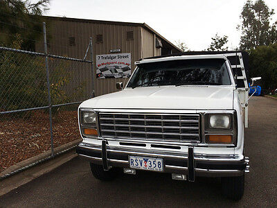 1980 Ford F350 Straight Gas 351 Cleveland