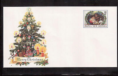 Papua New Guinea 1996 Mint & Unaddressed Postal Stationary Cover, Christmas !!