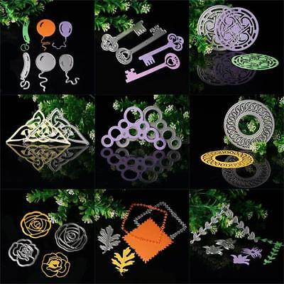 Flower Balloon Cutting Dies DIY Stencil Scrapbooking Paper Card Embossing Craft