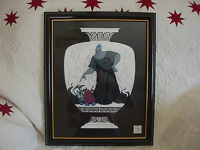 RARE Disney Sericel from HERCULES: Underworldly Associates-one of a set of three