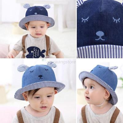 Toddler Cap Girl Infant Newborn Summer Bucket Beach Outdoor Cute Baby Sun Hat
