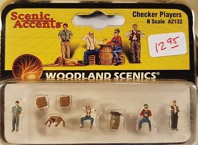 N Woodland Scenics A2132 Checker Players