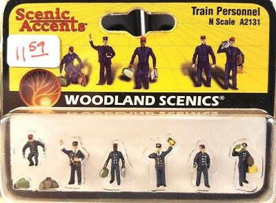 N Woodland Scenics A2131 Train Personnel