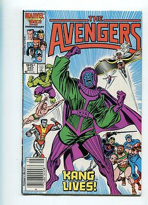 The Avengers #267 Hi Grade Great Kang Cover Canadian Price Variant
