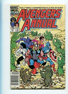 Avengers Annual #13 Higher Grade Great Cover Canadian Price Variant