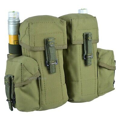 SPOSN Smersh Pouch For 4 Mags 2 Hand Grenades 2 Flare Olive Original Russian