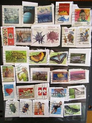 Australia 2015-17 recent stamps on paper (30).