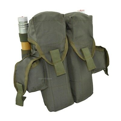 SPOSN Smersh Pouch For 4 RPK Mags 2 Hand Grenades 2 Flare Olive Original Russian