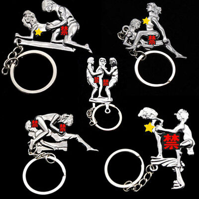 Novelty Keychain Keyring Gadget Utility Animated Key Ring Gadgets Gifts For Men