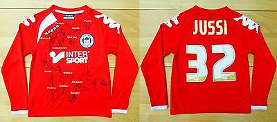 2015-16 Wigan Athletic Champions Goalkeeper Shirt Signed by Squad (11350)