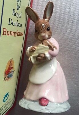 New, Boxed Royal Doulton Bunnykins Figure Mother And Baby DB167 UK Made