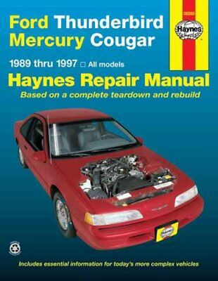Ford Thunderbird and Mercury Cougar (1989-97) Automotive Repair... 9781563923111