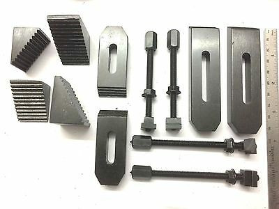 24 Pcs Clamp Kit Set-6 mm suits -Rotary Milling Table,Face Plate &Vertical Slide